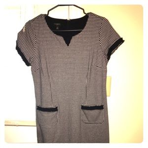 Navy Talbots shift dress